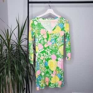 Lilly Pulitzer Palmetto Henley Tshirt Green Dress